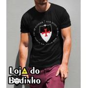 Camiseta Deus Vult mod. 07 - 3 Opções de Cores