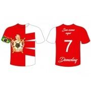 Camiseta Dry DeMolay - 7 Virtudes - COM SEU NOME PERSONALIZADO