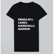 Camiseta Frases DeMolay - Land - Marshall e Mansur