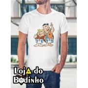 Camiseta Fred e Barney