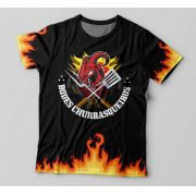 Camiseta Maçonaria Bodes Churrasqueiros - Preta