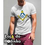 Camiseta - Maçonaria Brasil - 2 Opções de cor.