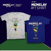 Camiseta Memelay Oficial - 2 Modelos de Cores