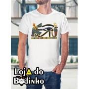 Camiseta OLHO DE HORUS - 3 Opções de Cores.
