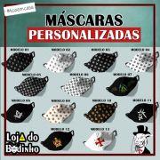 Mascaras Personalizadas - FORRO DUPLO - Vários Modelos