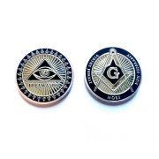Moeda Cinza Freemason