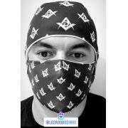 Touca Personalizada + máscara proteção forro duplo - Edição limitada.
