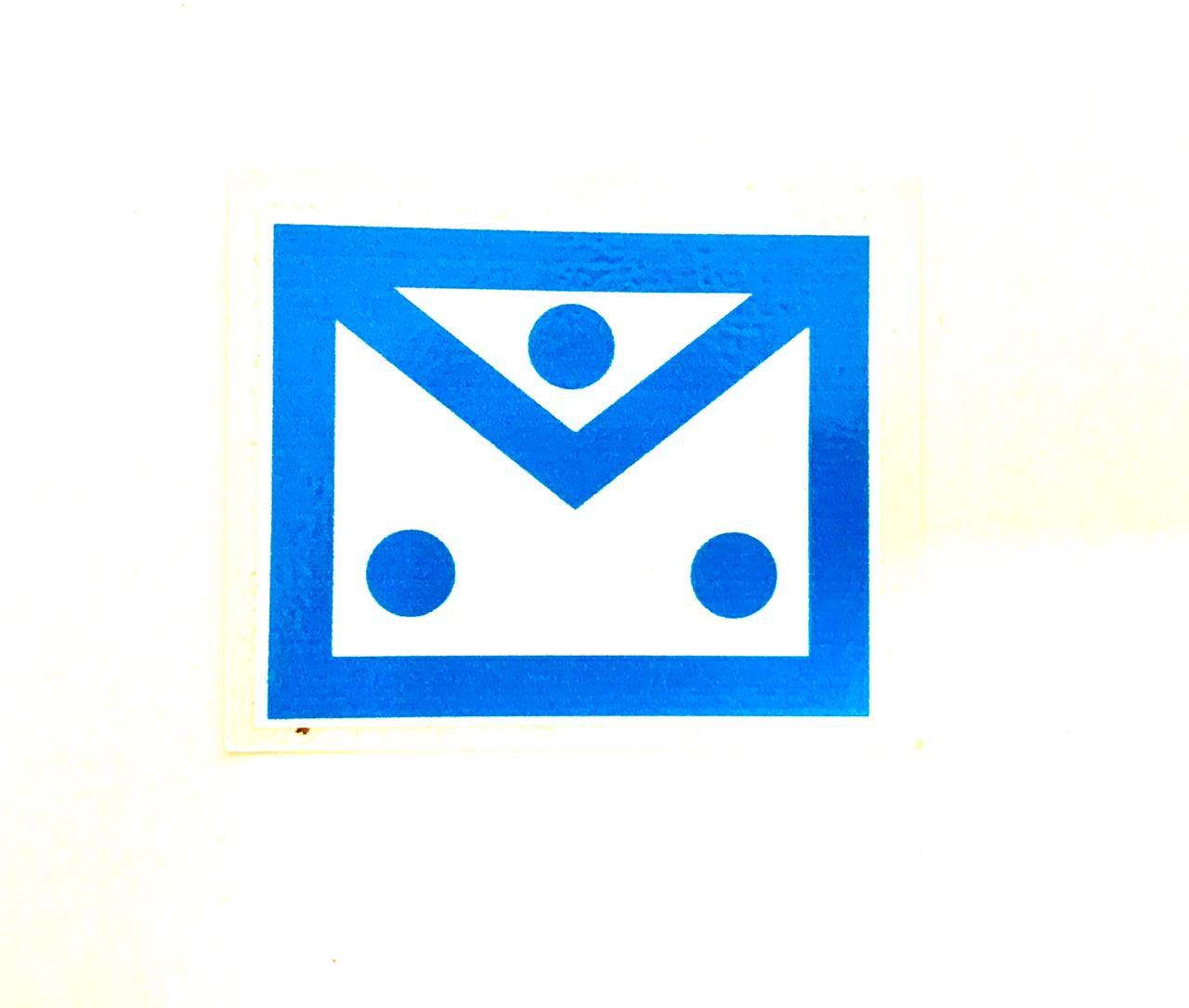 Adesivo Avental - Azul