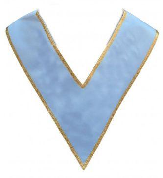 Alfaia - Colar Azul com Orla Dourada