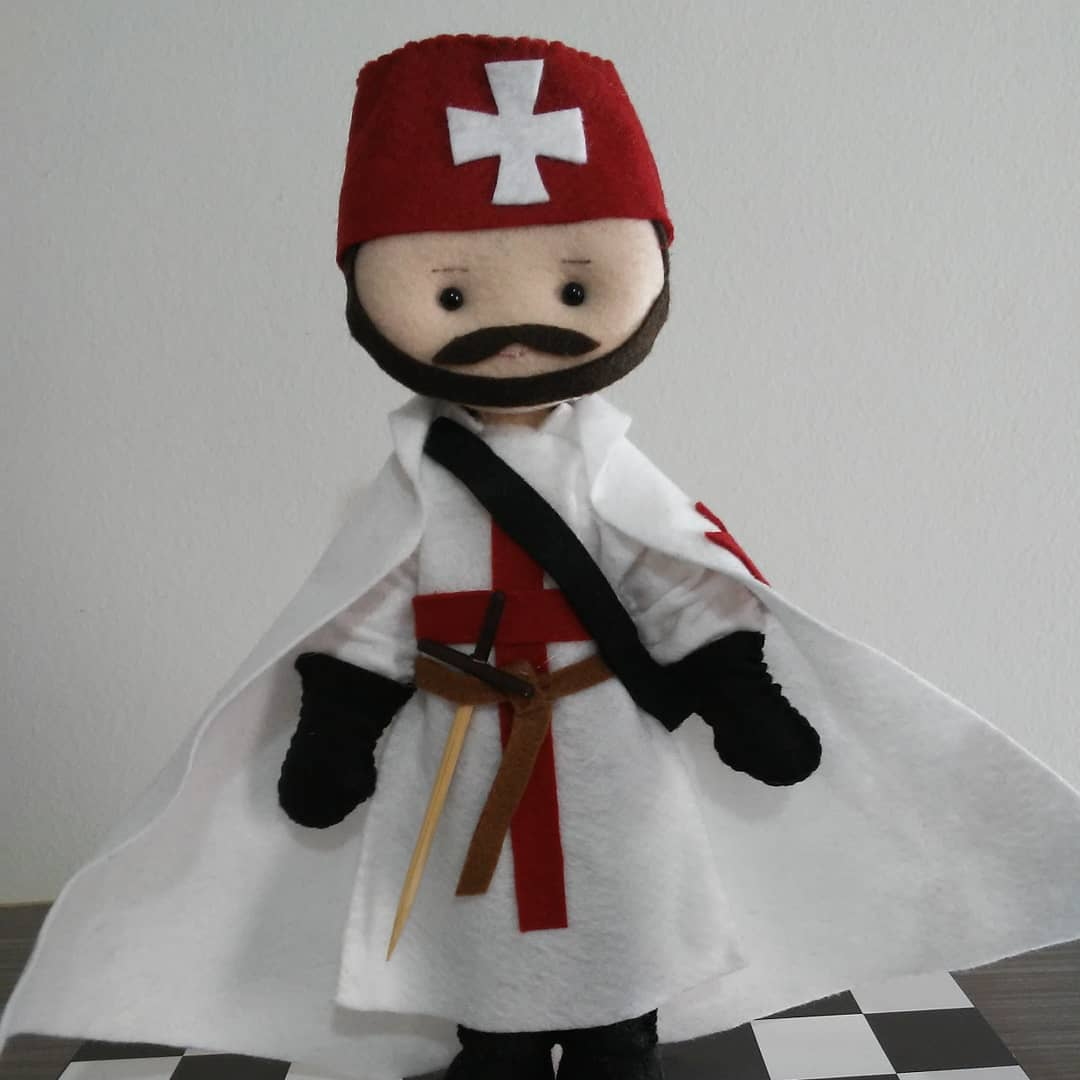 Boneco Personalizado - DM - FDJ ou Maçon - Envie sua foto e fazemos um boneco parecido com você.