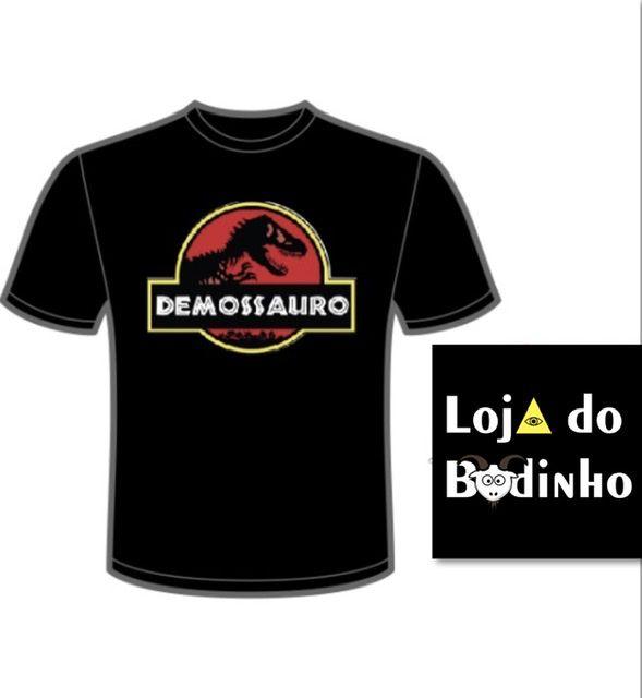 Camiseta Demosauro