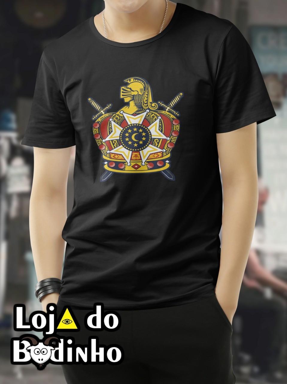 Camiseta Brasão DM - 3 Opções de Cores