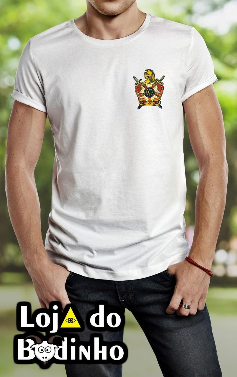 Camiseta - Brasão Dm Color - 2 Opções de cor.