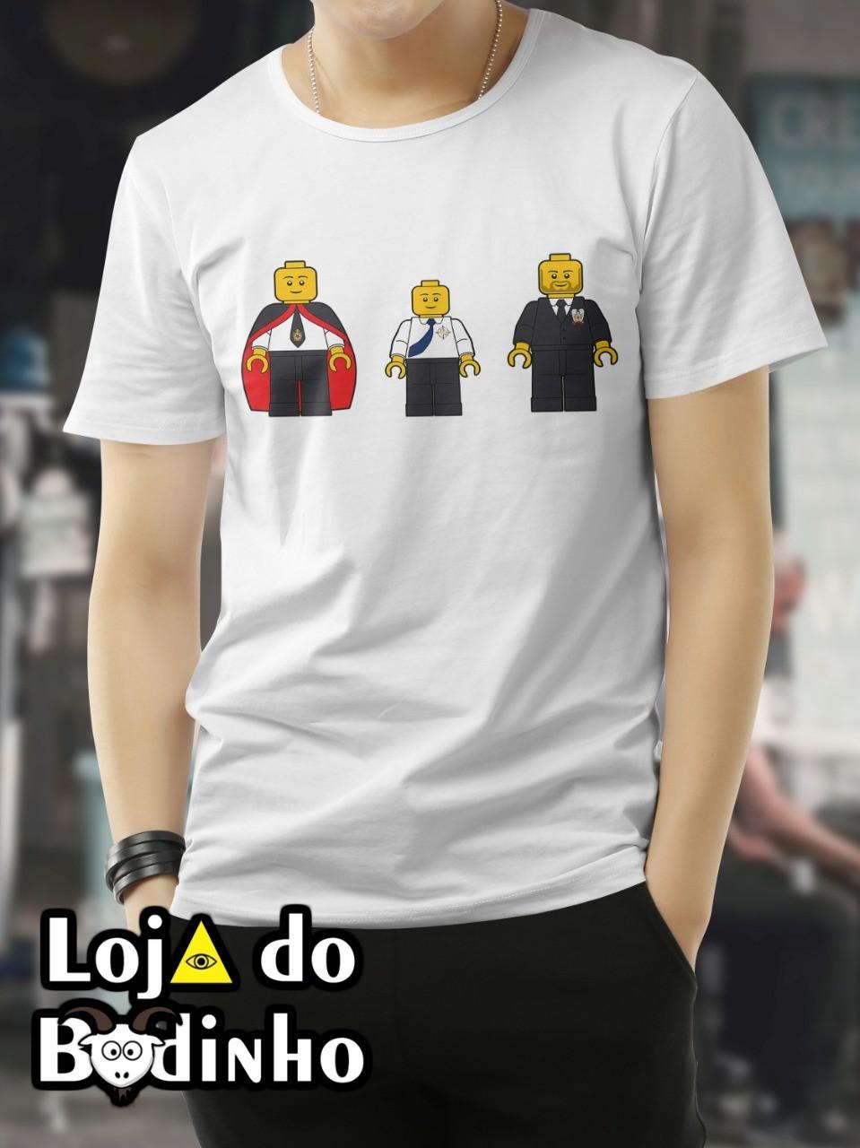Camiseta - Dm - Escudeiro e Sênior DM  - 2 Opções de cor.