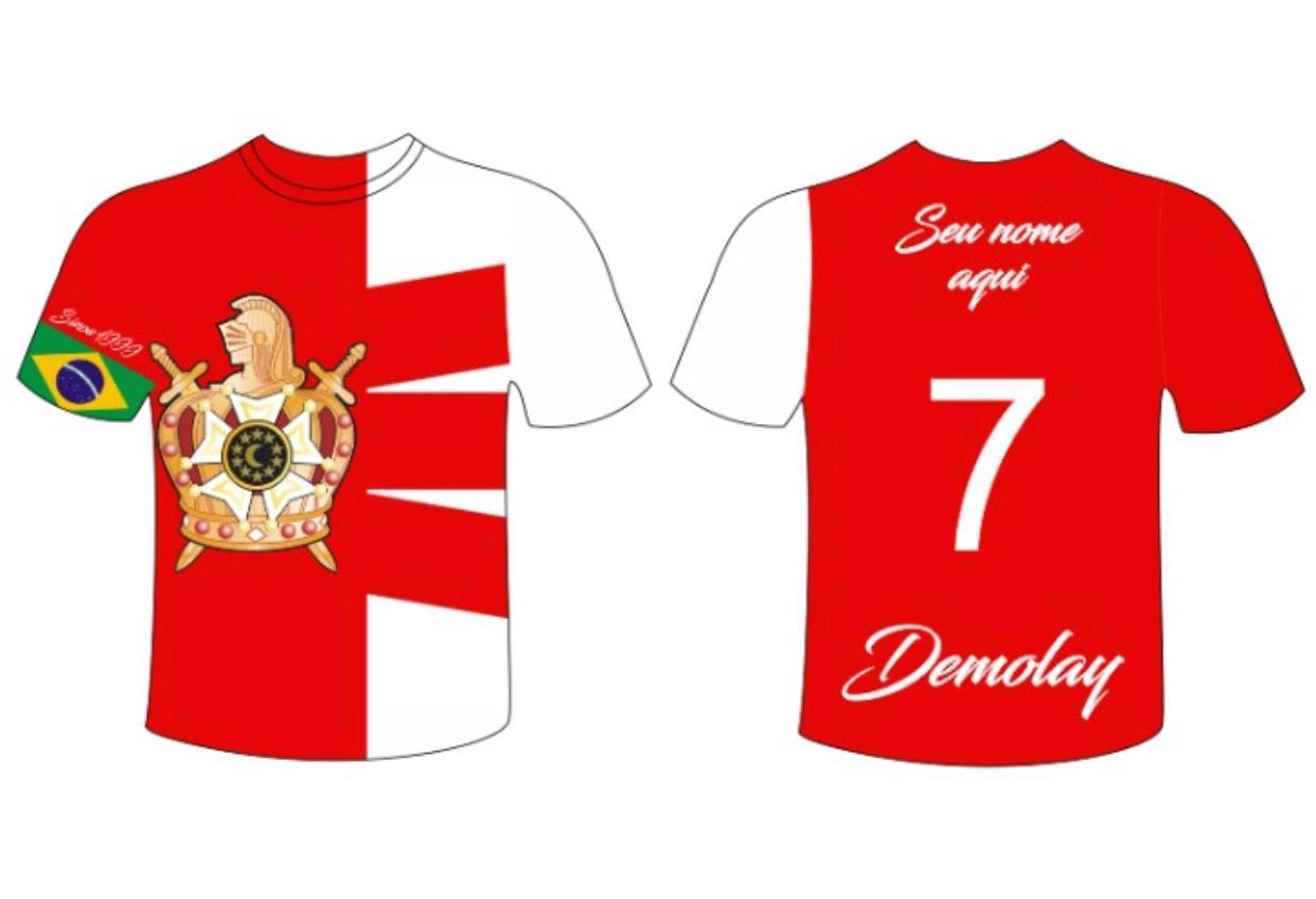 Camiseta Dry Dm - 7 Virtudes - COM SEU NOME PERSONALIZADO