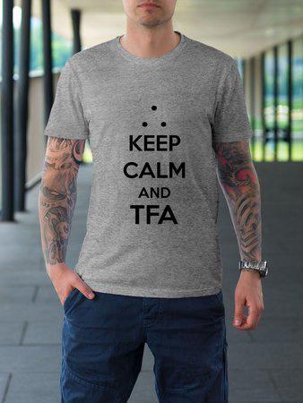 Camiseta Keep Calm TFA - 3 Opções de Cores
