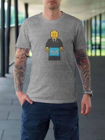 Camiseta Lego Mestre - 2 Modelos de Cores