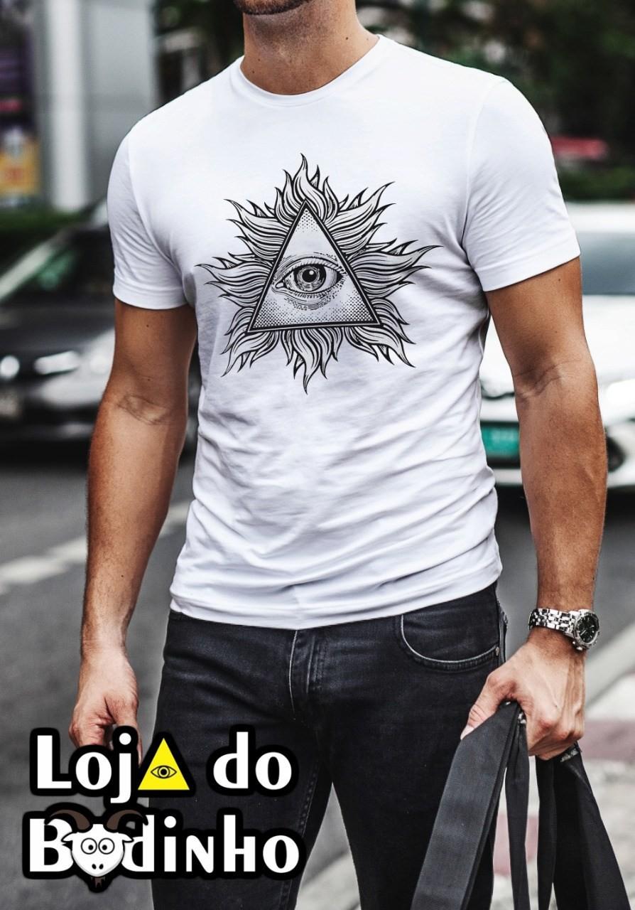 Camiseta Regata Olho que Tudo Vê