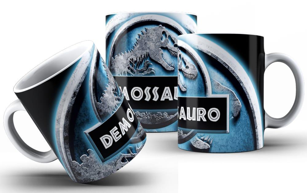 Caneca Demosauro - escolha o modelo.