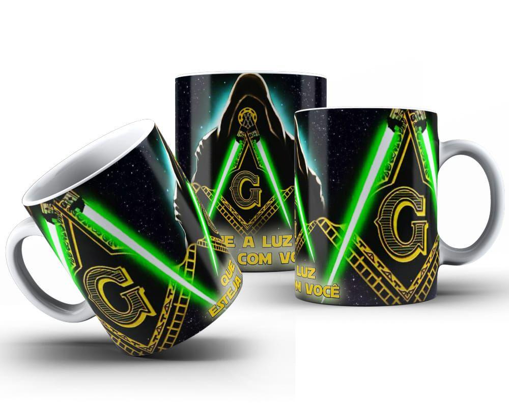 Caneca Maçonaria Darth Vader