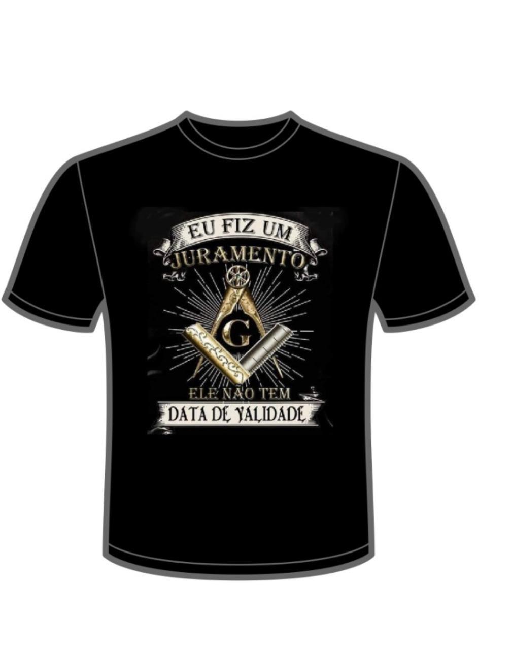 Camiseta Eu Fiz Juramento