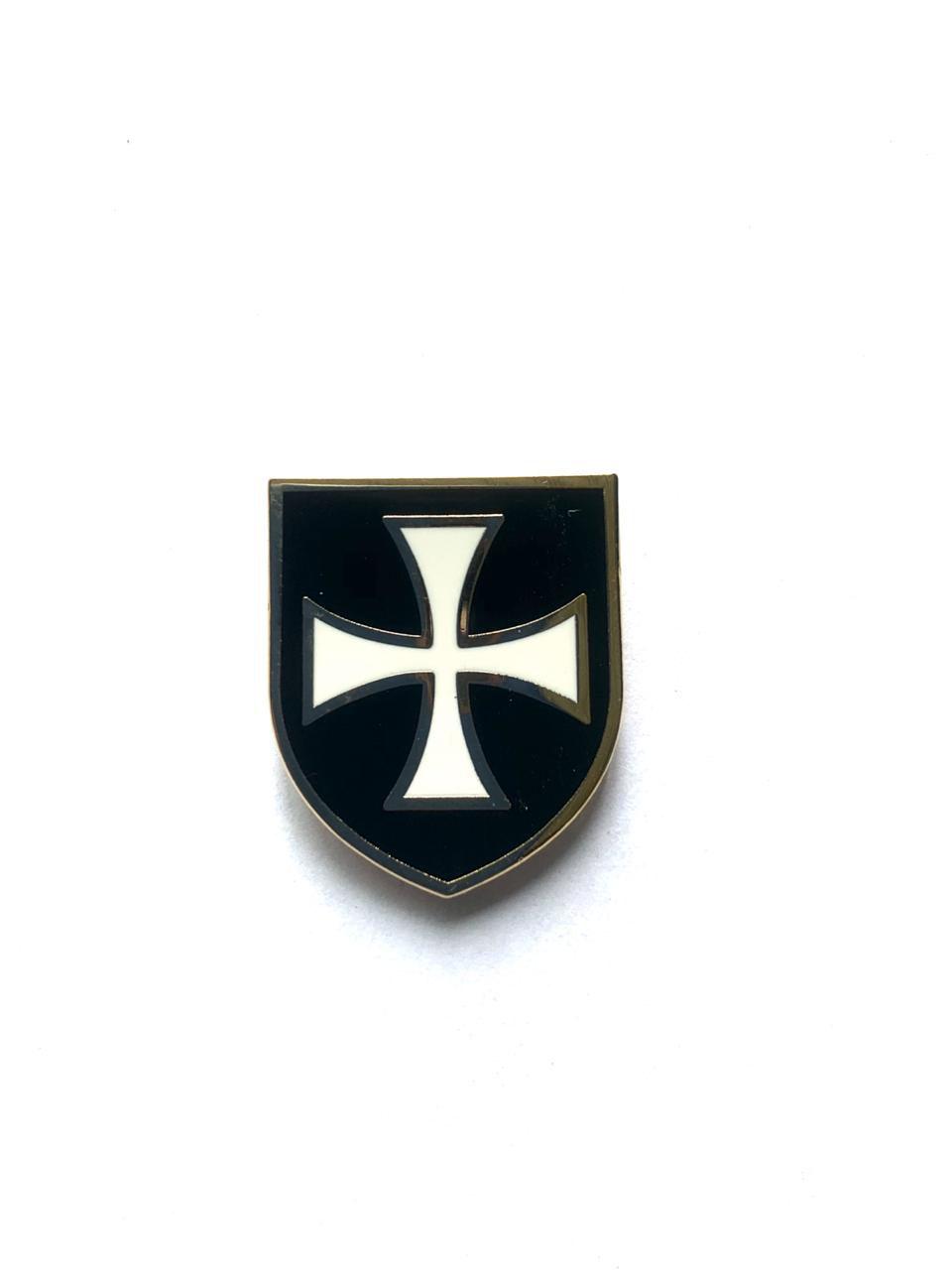 Escudo do Templário Preto - DM