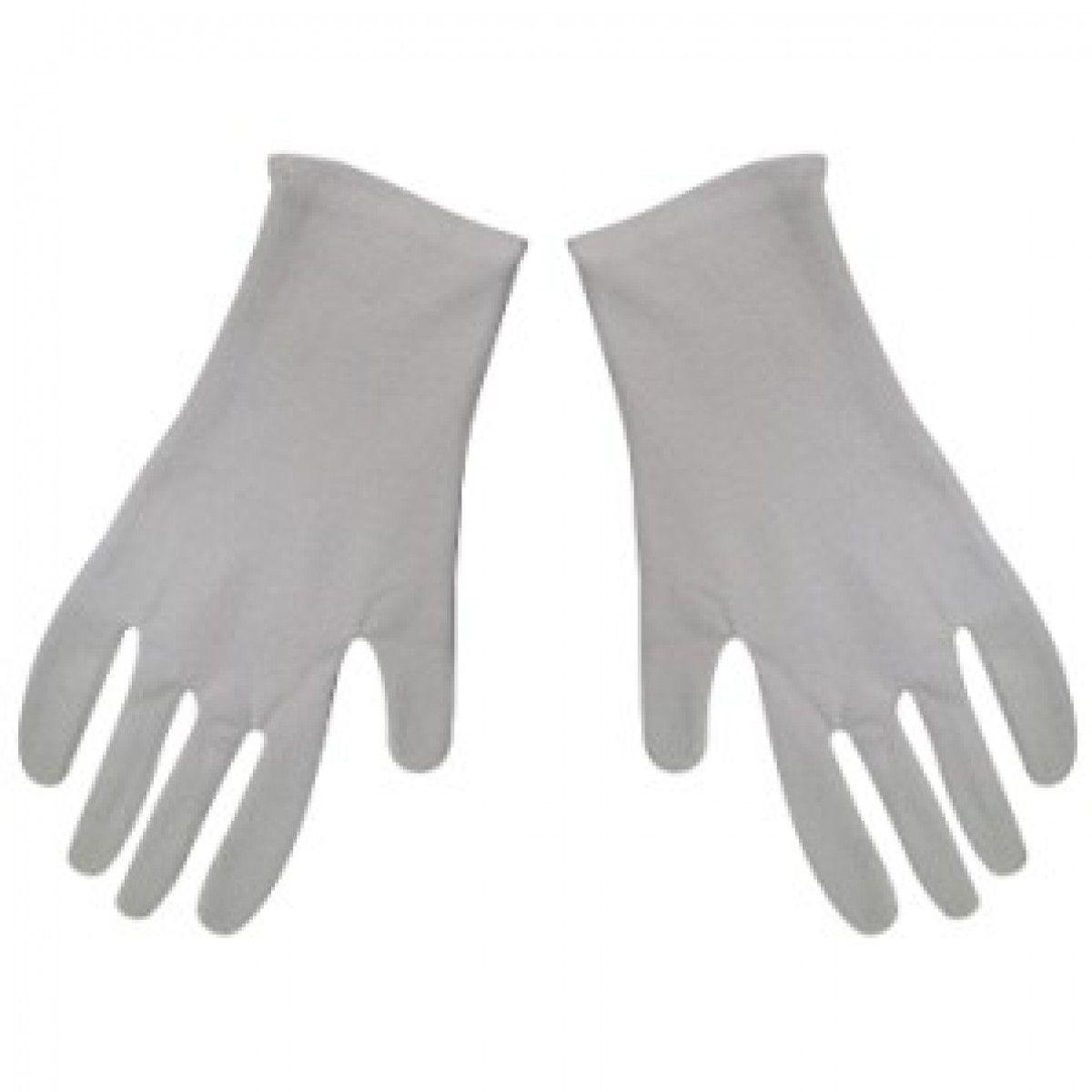 Luvas Brancas Luxo - 1 Par