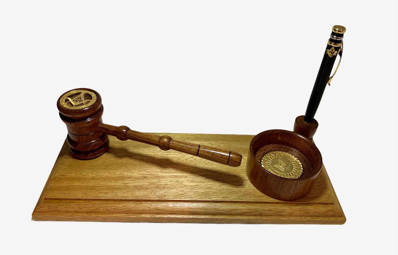 Mimo Malhete com base e caneta inclusa - Luxo