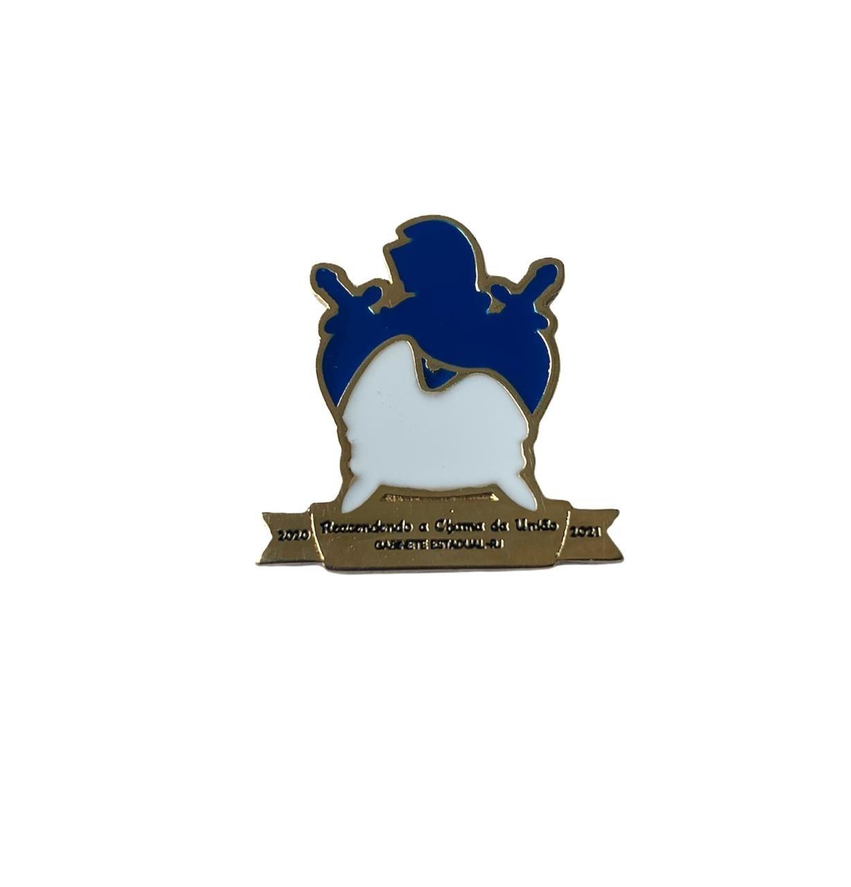 Pin DeMolay Grande Capitulo do Estado do RJ - Liderança Juvenil (lançamento)