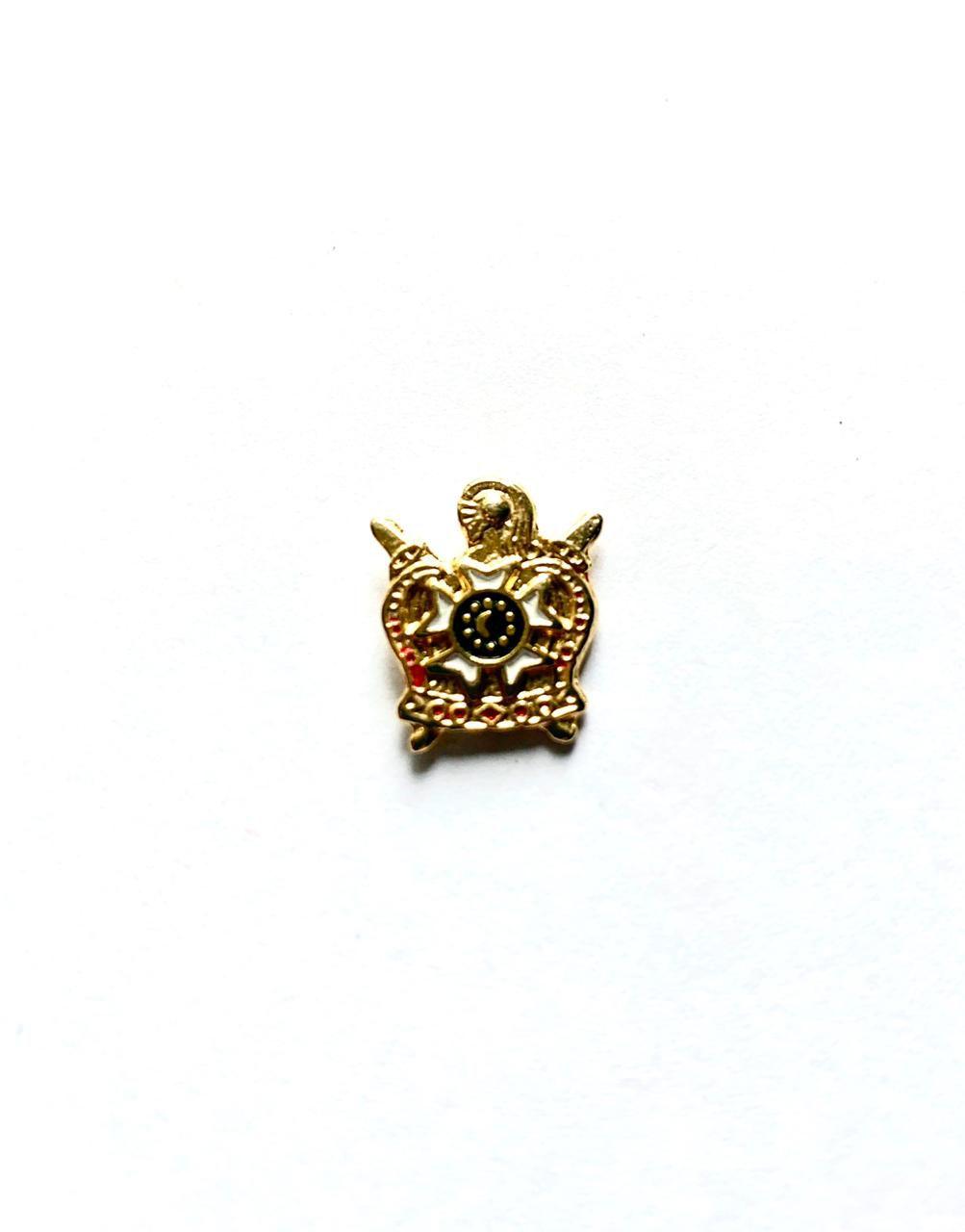 Pin DM - Pequeno - 1,5 x 1,5 cm