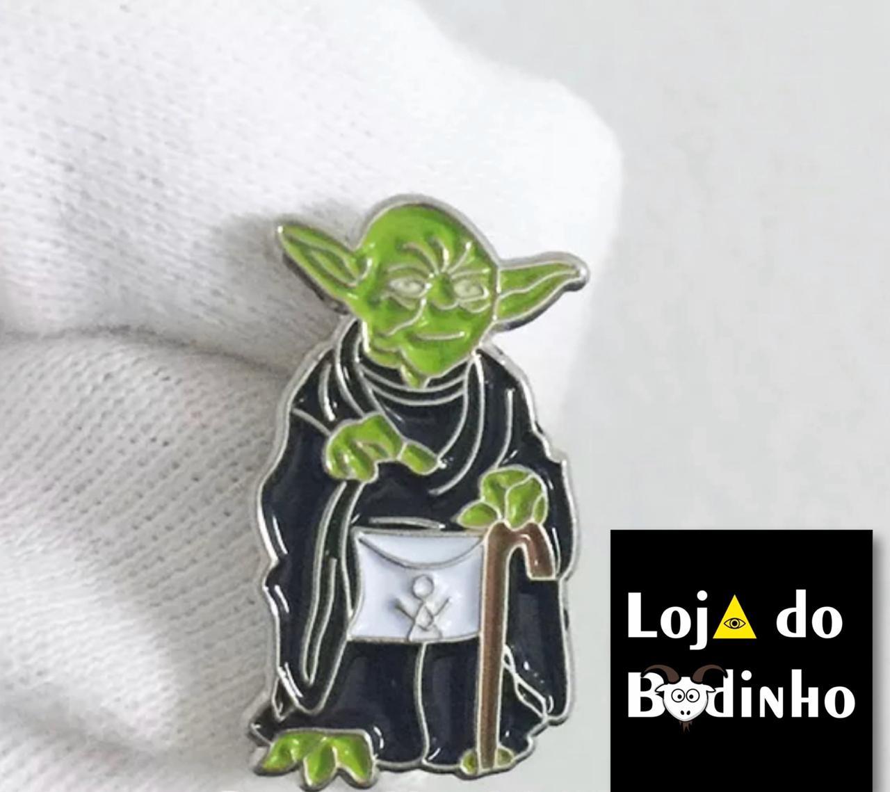 Pin Yoda Star Wars - Edição Limitada.