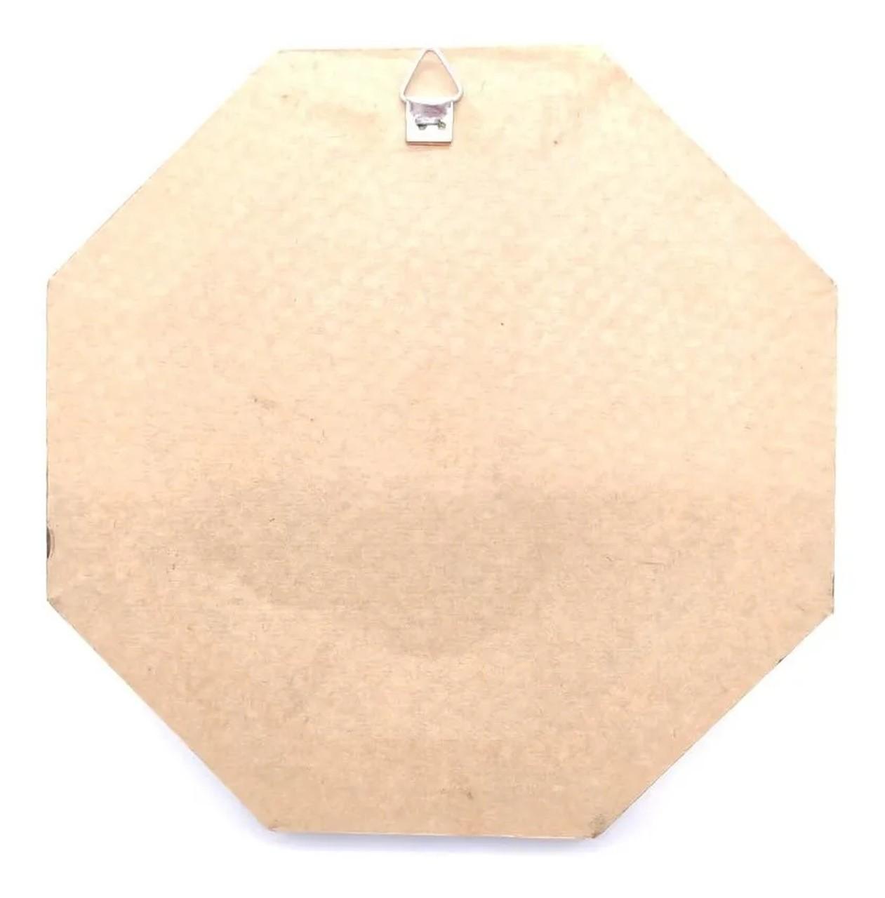 Quadro Símbolo Da Maçonaria Placa Decorativa - 18cm