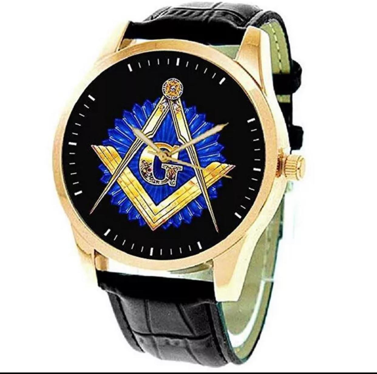 Relógio Couro Preto