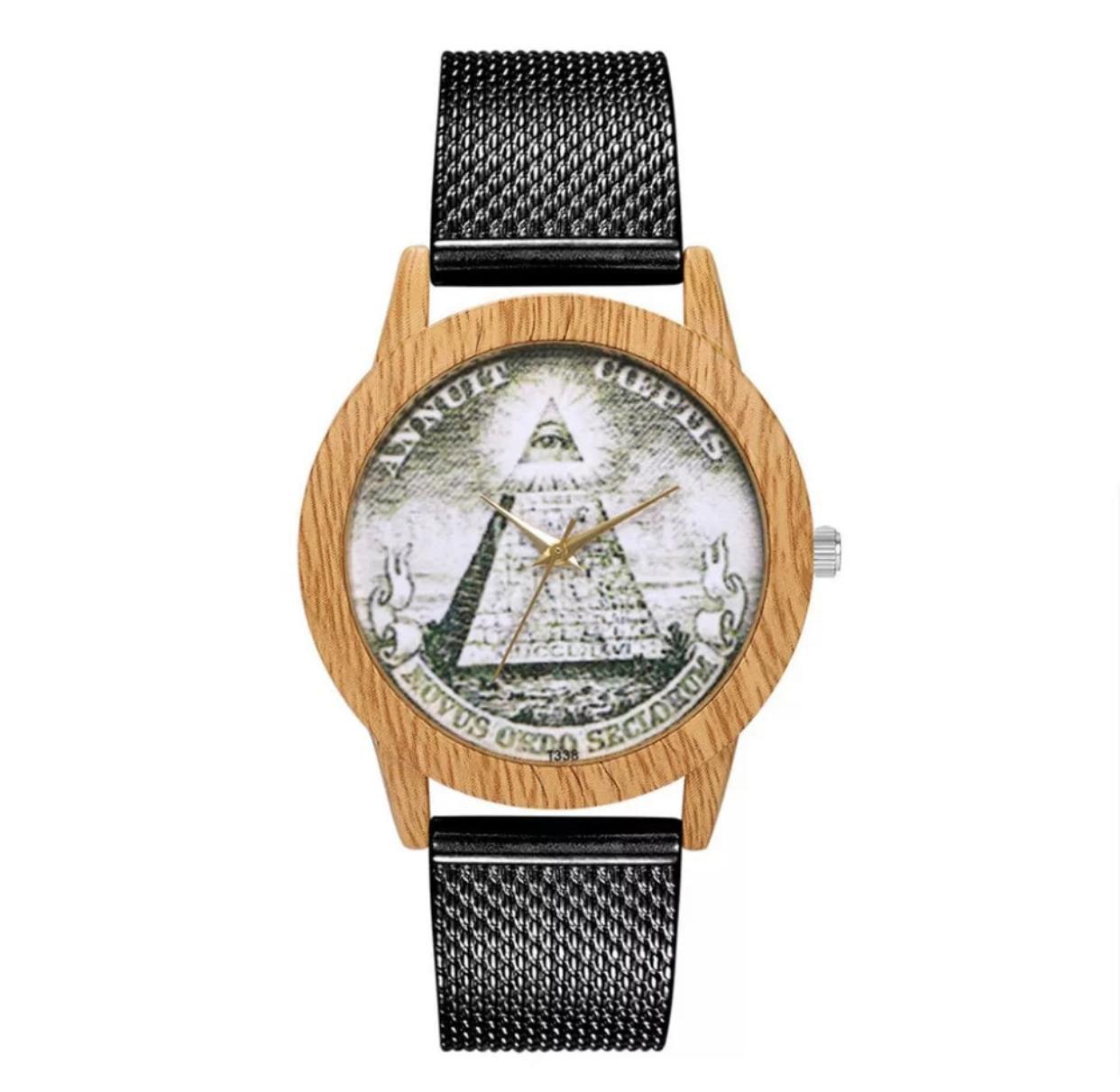 Relógio Madeirado - Envio 01-06