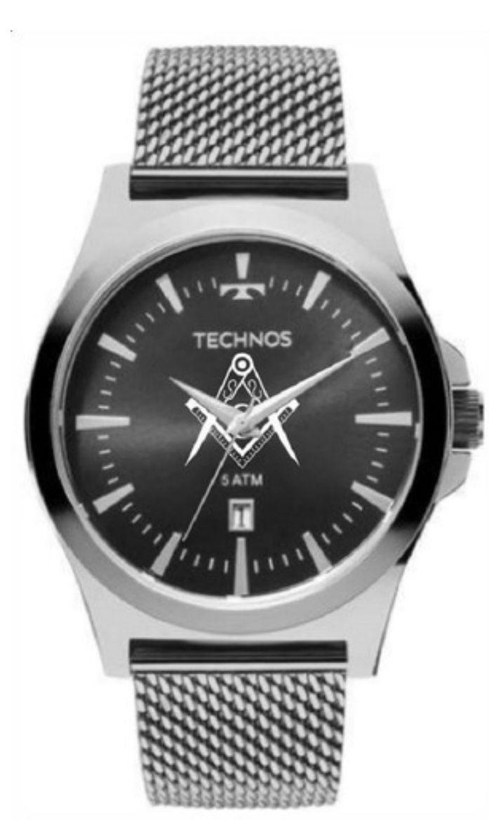 Relógio Technos Masculino Maçonaria 2115lal