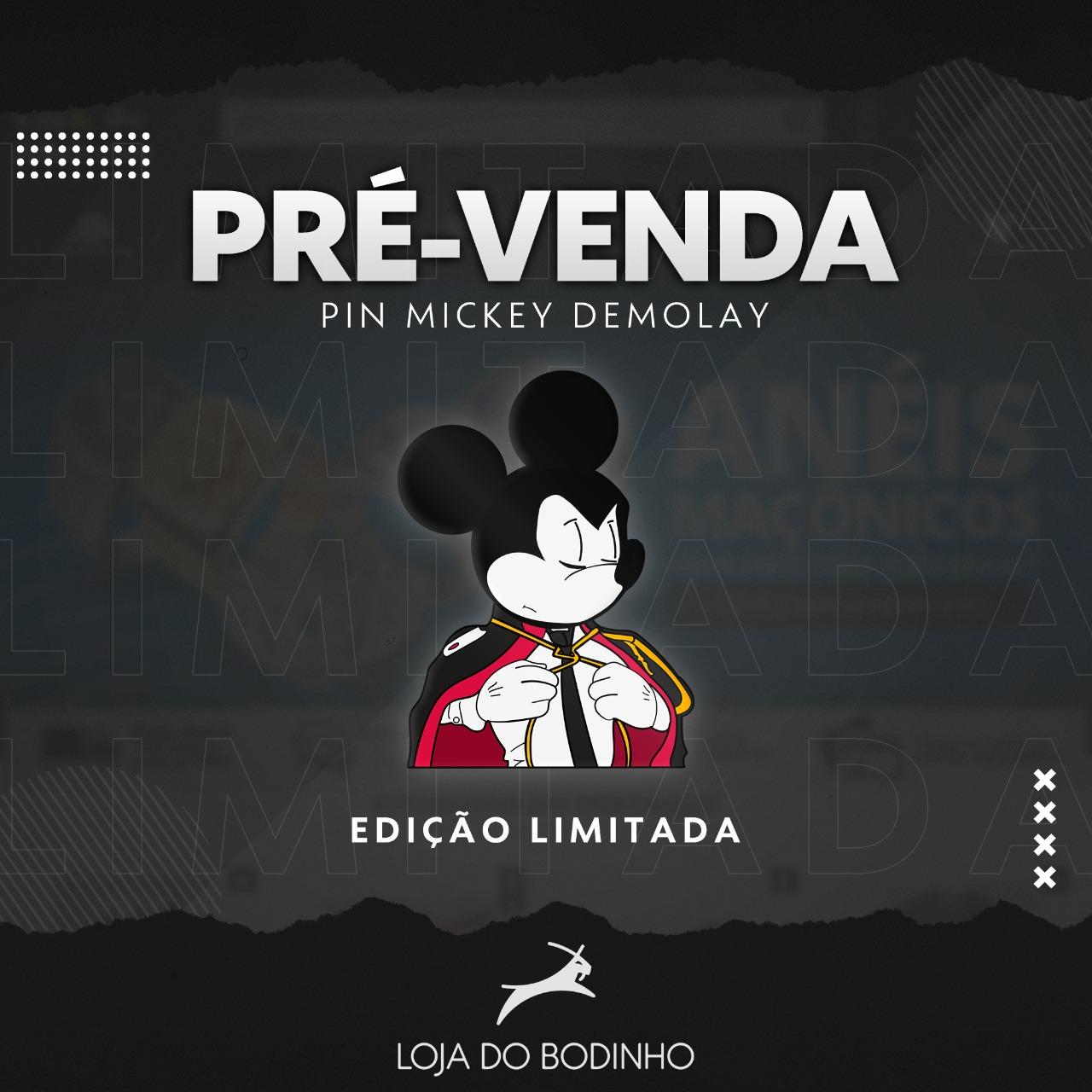 PIN Mickey Mouse DM (apenas 100 unidades)