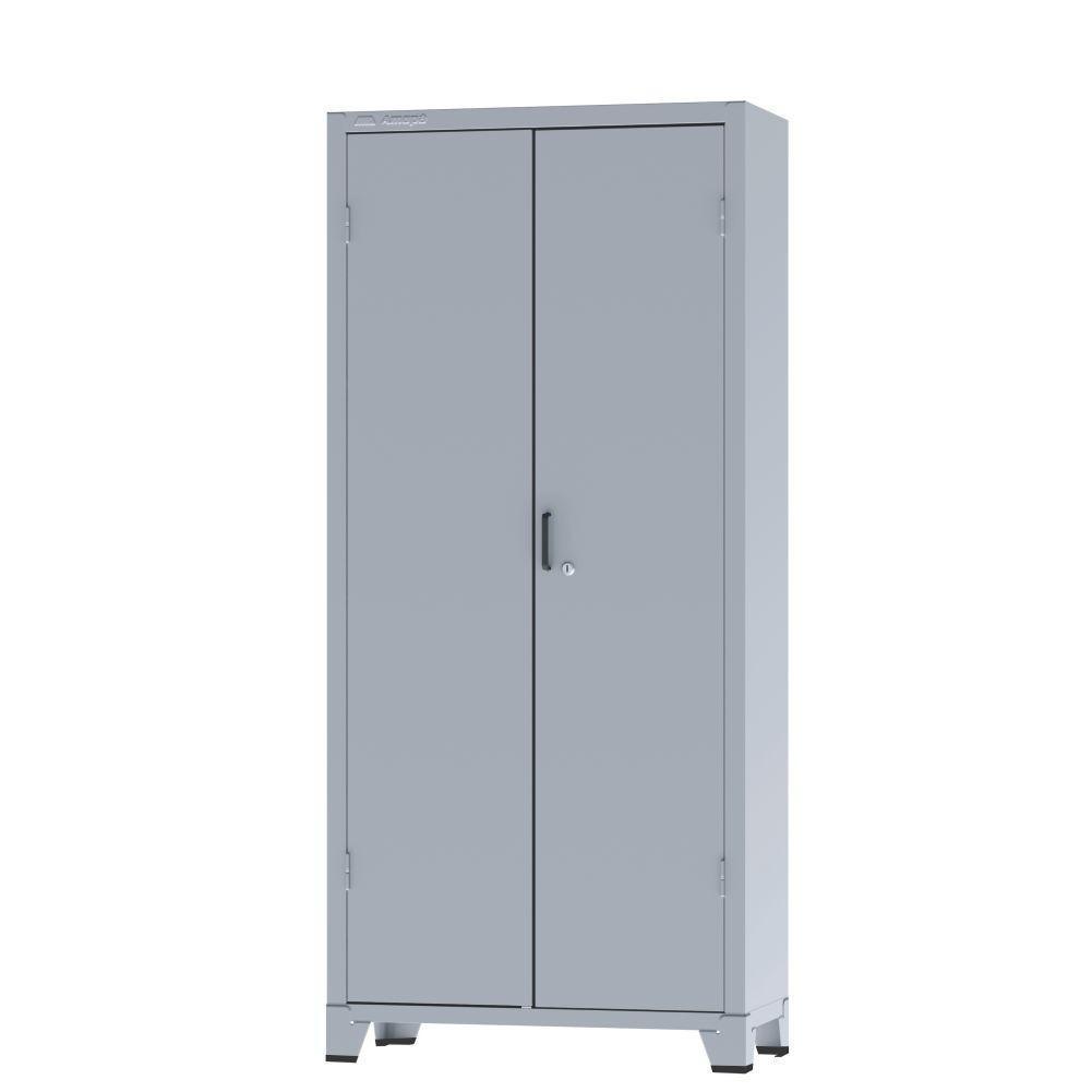 Armário de Aço c/ 02 portas - PA 75 - 1,66x0,75x0,32m - CHAPA # 26 - AMAPÁ COD 520