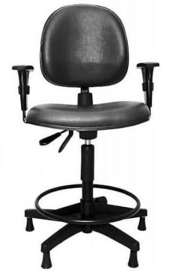 Cadeira Caixa com sistema Back System e braço regulável COD 691