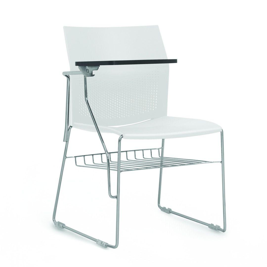 Cadeira Connect com Braço e Prancheta FRISOKAR COD 43