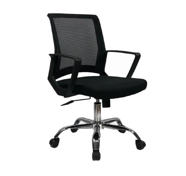 Cadeira Diretor com Encosto Confortável em Tela Giratória com Braço COD 48