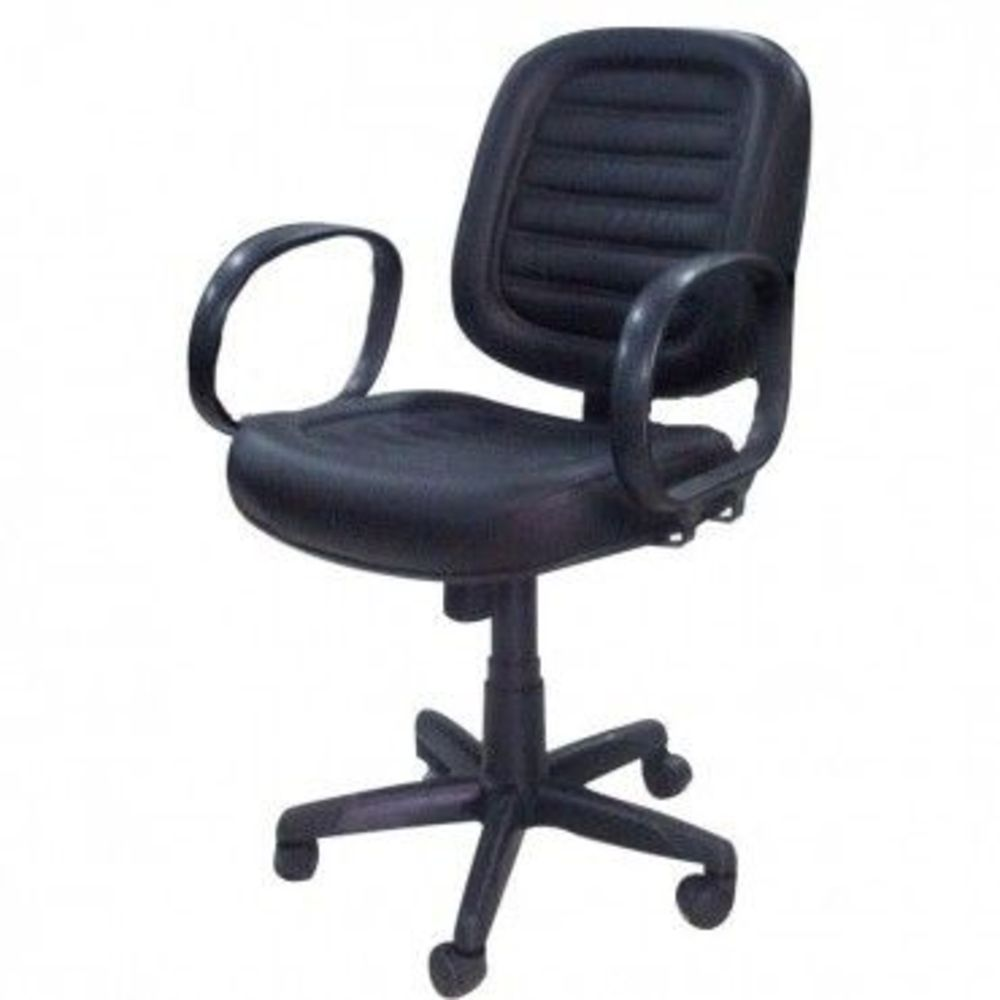 Cadeira Diretor Escritório Giratória Braço Corsa Courano Gomado Base Regulável com Rodinhas  COD 60