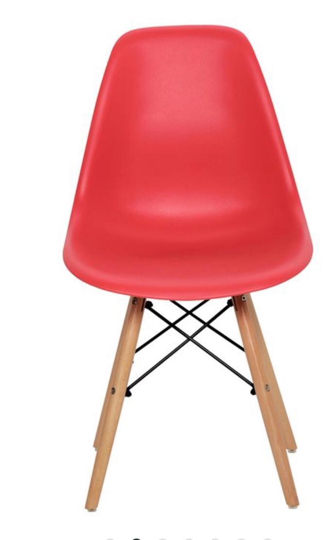 Cadeira Eiffel Vermelha COD 449