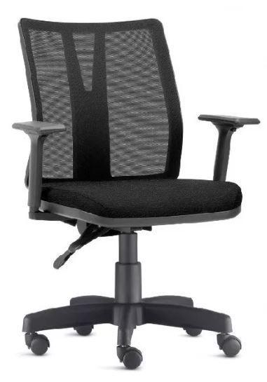 Cadeira Ergonômica Addit Regulável para Escitório Home-Office com Rodinhas FRISOKAR COD 62