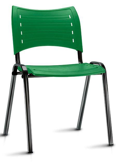 Cadeira Escritório Fixa Iso Colorida COD 70