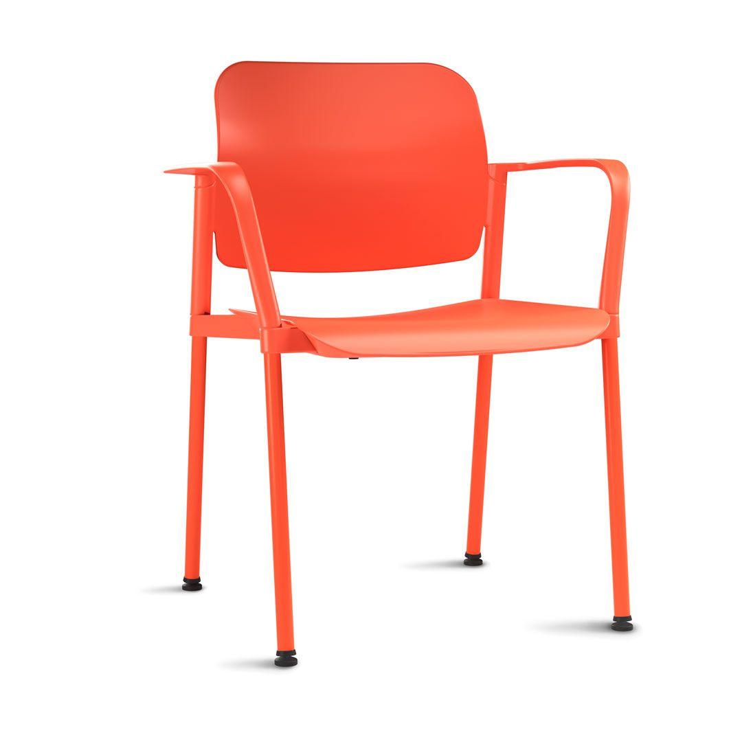 Cadeira Escritório Leaf com Braço Fixa FRISOKAR COD 72