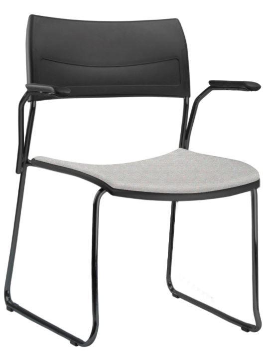 Cadeira Escritório Nina Fixa Com Braço FRISOKAR COD 78