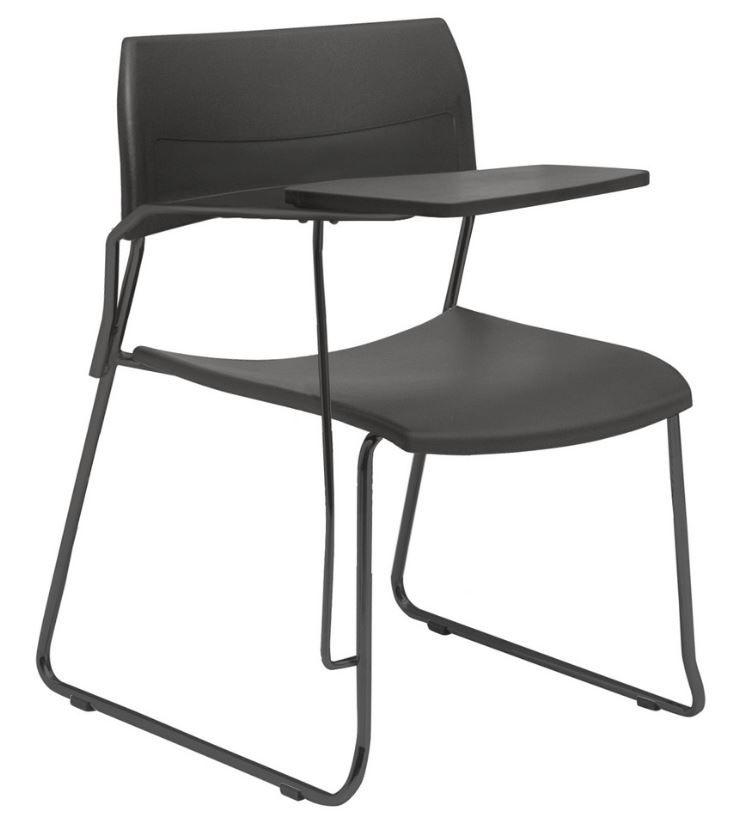 Cadeira Escritório Nina Fixa com Prancheta FRISOKAR COD 79