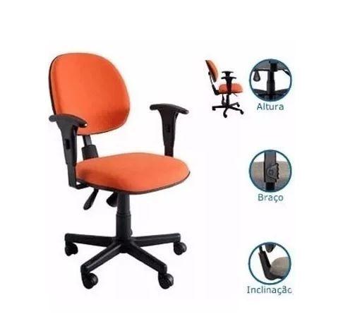 Cadeira Executiva Ergonômica Back System Nr17 COD 91
