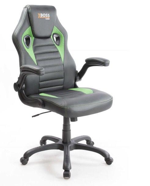 Cadeira Gamer MK-792 Couro Ecológico Braços Articulados COD 169