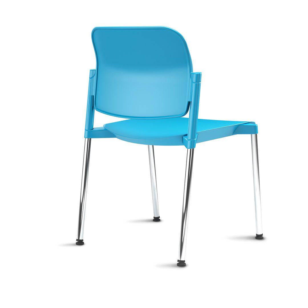 Cadeira Leaf Sem Braço Fixa FRISOKAR COD 105
